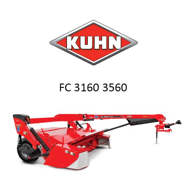 Ανταλλακτικά KUHN FC 3160 3560