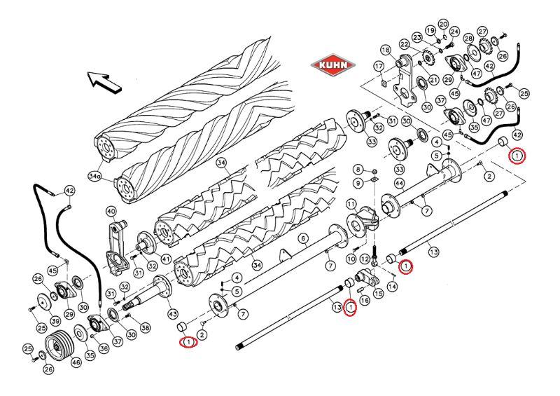 Amtallaktika kuhn 83014550 Δαχτυλίδι