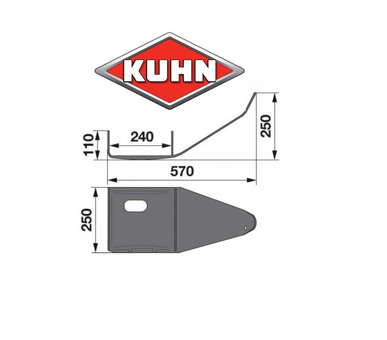 Σκι Kuhn μεγάλo κάτω από γκρούπ