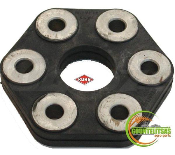 Ελαστικό κόμπλερ συνεμπλόκ 6 τρύπες 83030002