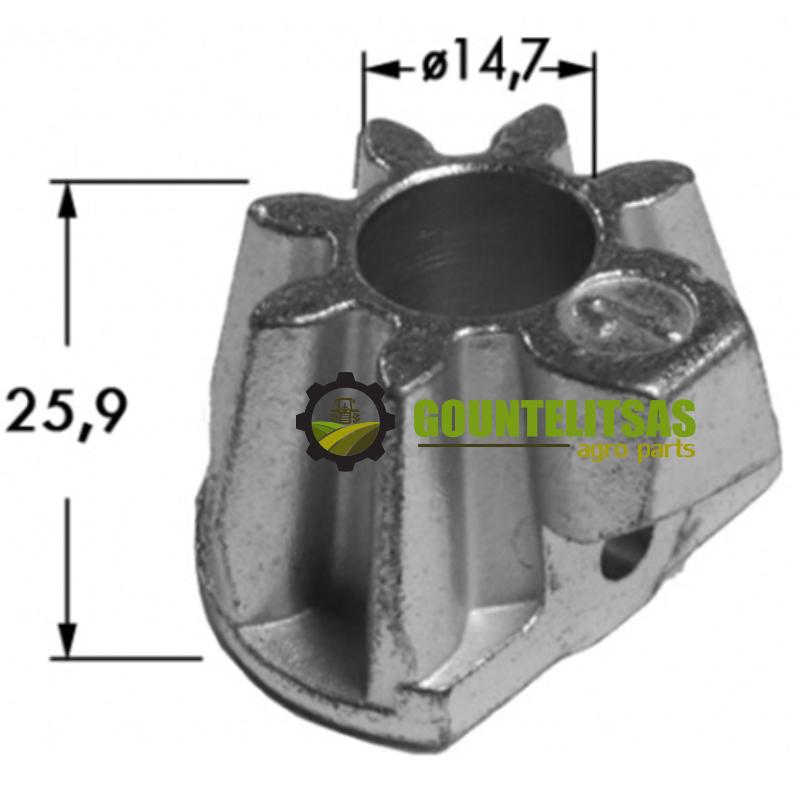 Γρανάζι ατέρμονα RASSPE 06.06.012