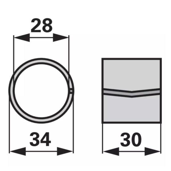 Δαχτυλιδι σωληνα ανεμης 1 krone 9359000 (1)