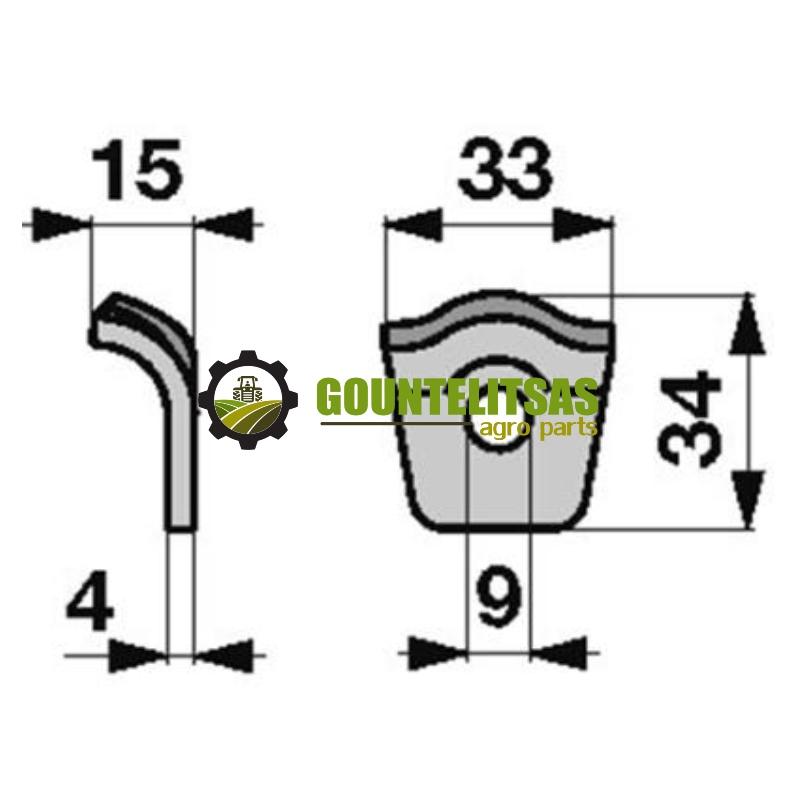 Λαμακι μικρο για τζινι 1 Krone 9380521