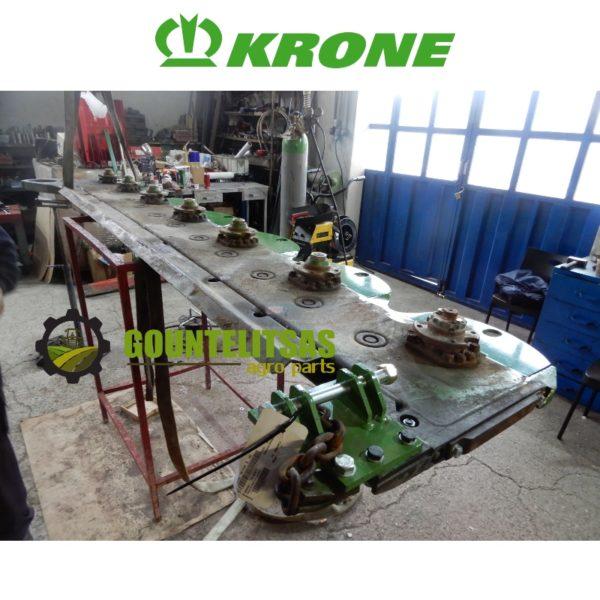 Ανακατασκευή μπάρας κοπής Krone