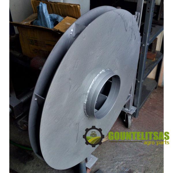 Φτερωτή απορροφητήρα 800 χιλιοστά για βιομηχανία τροφίμων